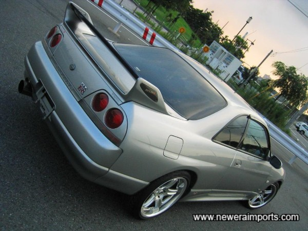 Good quality genuine low mileage R33 GT-R's are becoming rarer.