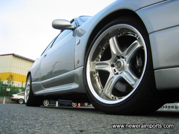 Volk Racing GT-C Face II alloys - Some of the sexiest wheels to come out of Japan recently!