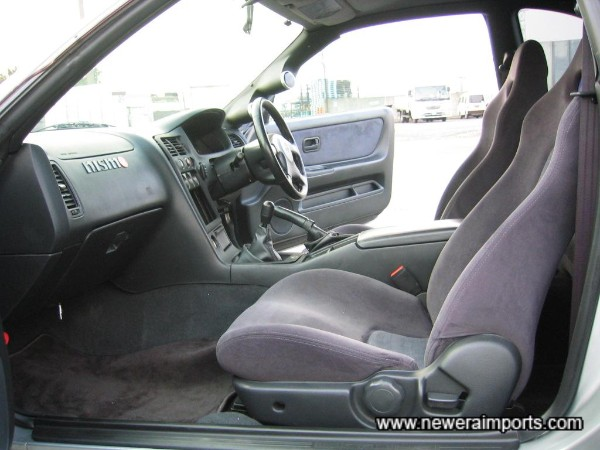 Interior's in excellent unmarked condition in keeping with the low genuine mileage of this car.