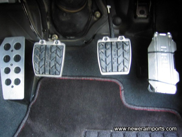Impul pedal covers.