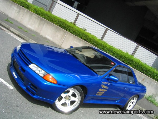Bayside blue - Suits this car perfectly.