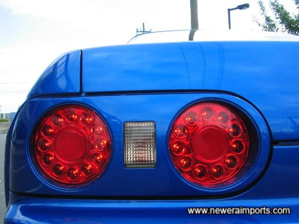 LED rear light clusters.