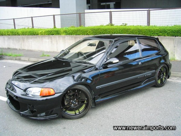 The best  example of  an EG6 we've come across.