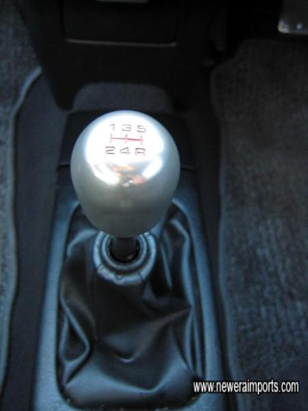 Original Honda Type R gear knob.