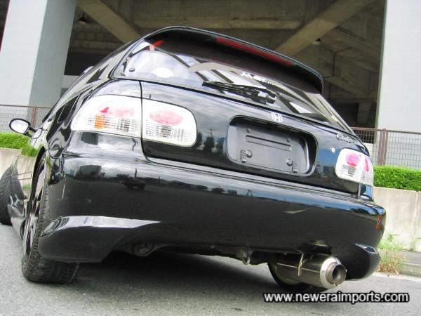 Bomex Original rear bumper.