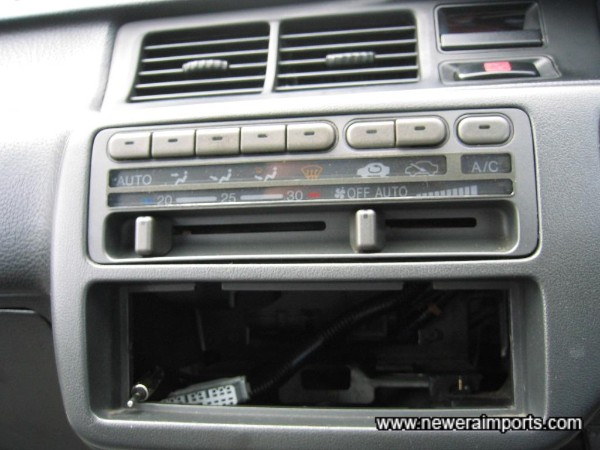 Note: No hifi is fitted to this car.