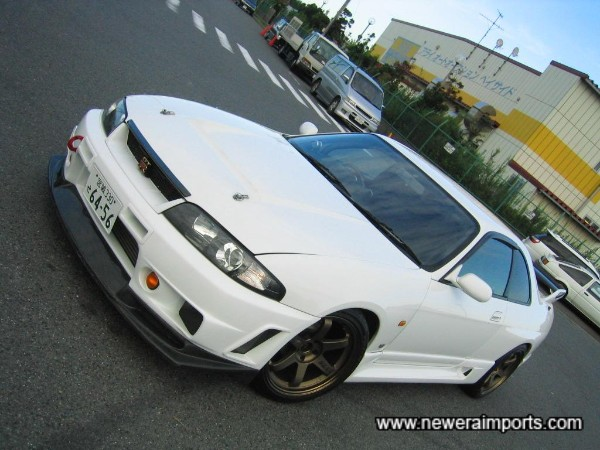 Stunning specification - The best R33 GT-R V-Spec we have ever sourced.