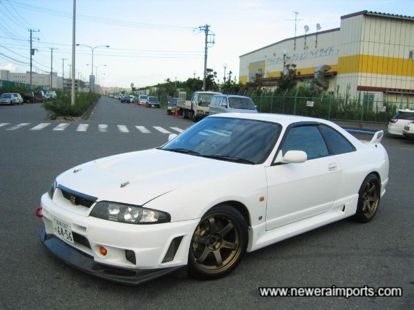 Over £40,000 has been spent in tuning this car in Japan.