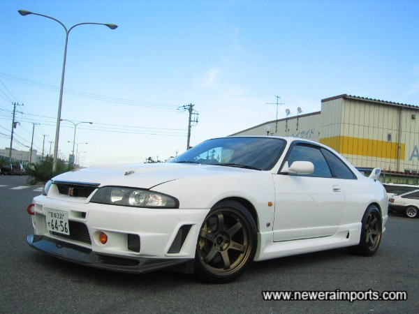 What you're looking at is the most special R33 GT-R road car to soon be in the UK.
