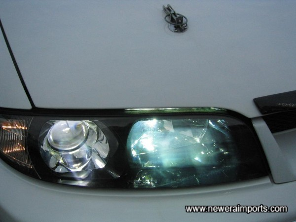 Xenon HID both on low and high beam!