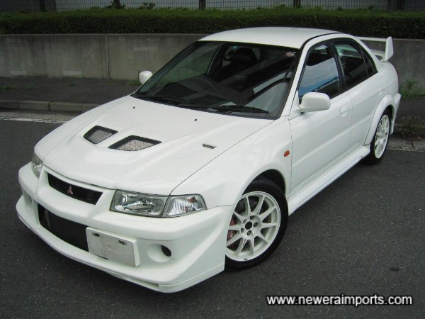 Evo 6 TME - Our favourite rally fugitive of all!