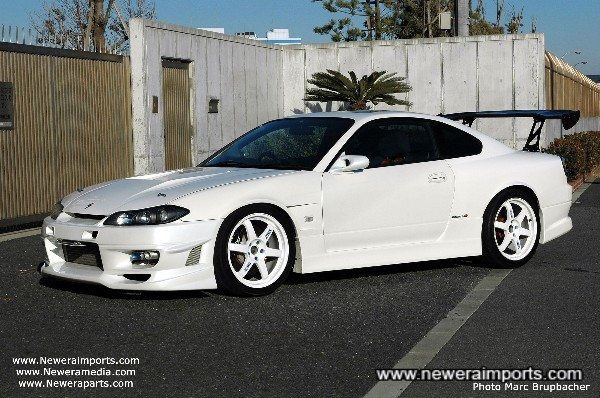 The best UK registered Silvia S15 Spec R - Our own car!