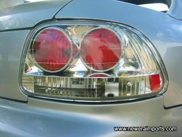 Clear Rear Lights