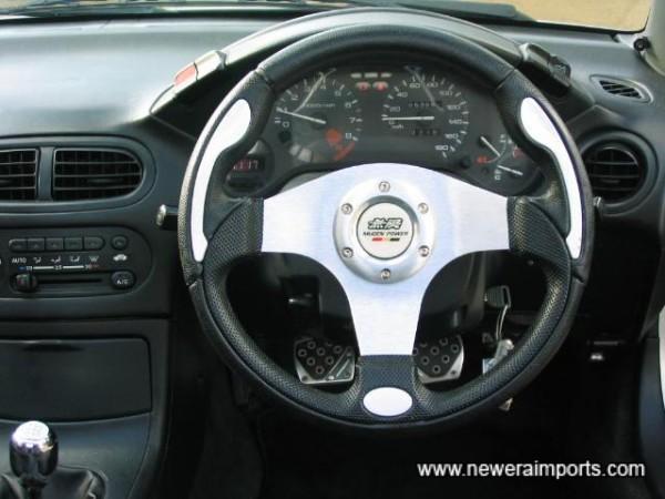 Aftermarket Steering Wheel & Gearknob