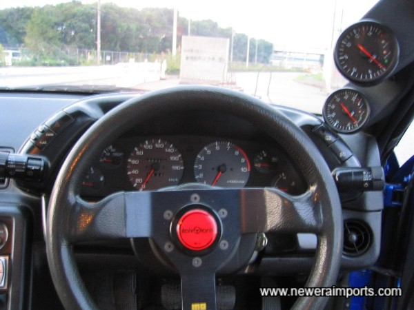 Driver's view.