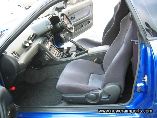 Interior is in excellent condition in keeping with the low mileage of this example.