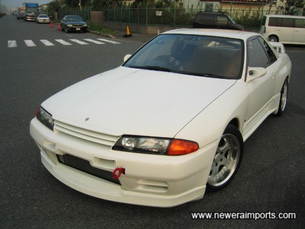 Fitted with full Nismo Aero Parts (Original)