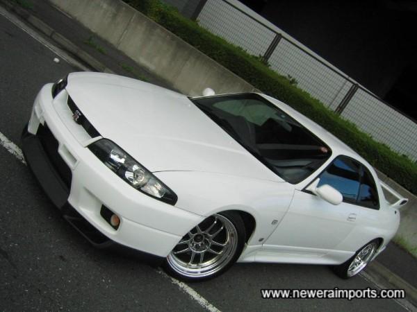 One of the best low mileage R33 GT-R V-Spec's we've had yet.