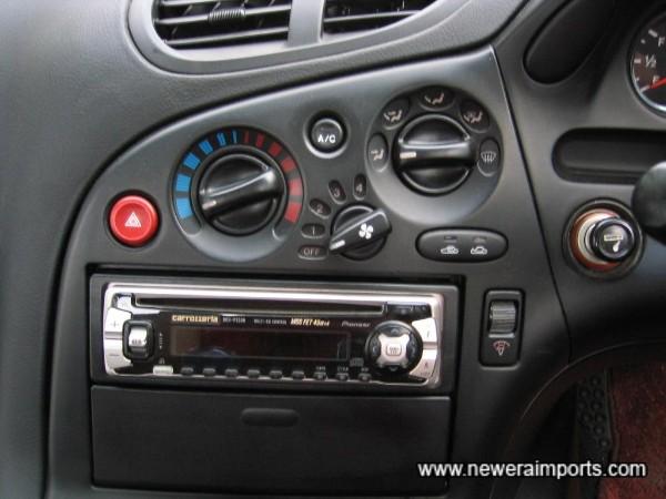 Carrozzeria MOS FET 45W x 4 Audio.