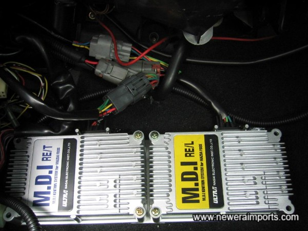 Twin MDI Ignition Amplifiers.