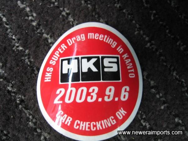 HKS Super Drag Meeting in Kanto in 2003