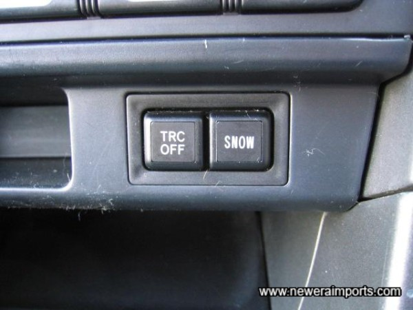 Traction control.