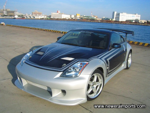 Stunning custom paintwork , Top Secret genuine bodykit and much more! As prepared exclusively for F&F 3 Tokyo Drift!