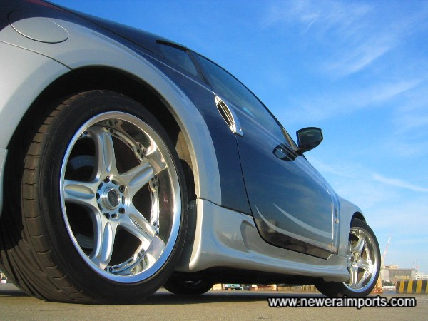 Volk Racing GT-C Face 2 18'' wheels with Toyo Proxes Tyres are brand new!