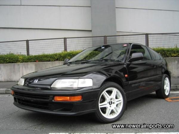 Rare to find a CR-X DOHC V-Tec as original as this!