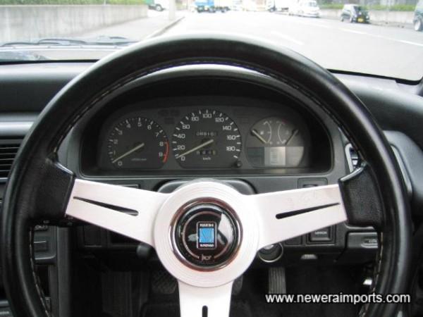 Nardi Classis Steering wheel.