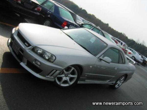 Nismo original option (ABS plastic, not FRP) front bumper.