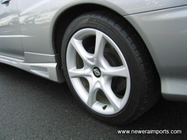 Wheels are in excellent condition with near new tyres.