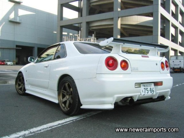 Nismo LED rear light clusters too!