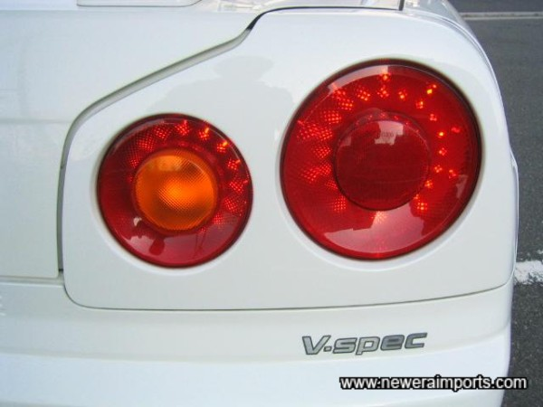 Nismo LED light clusters!