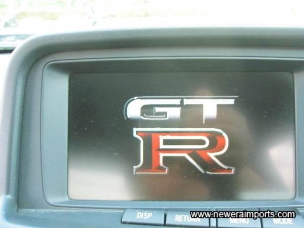 Original R34 GT-R Display.