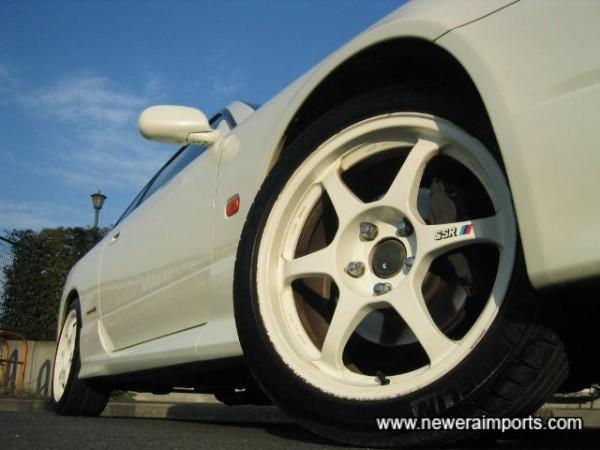 SSR Wheels - 17'' size.