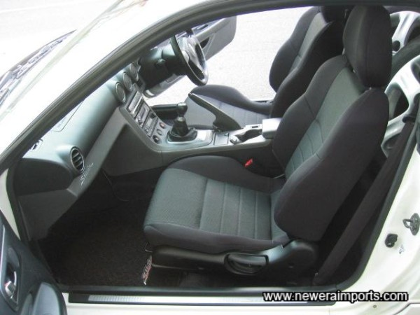 Interior is in excellent condition and has low wear in keeping with low genuine mileage.