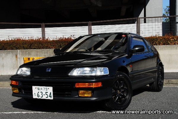 This may be the BEST original CR-X outside of Honda's Museum collection!