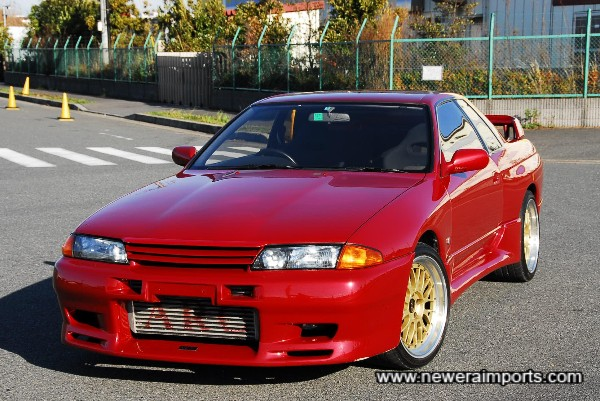 Another stunningly beautiful example of a GT-R R32 from ourselves!
