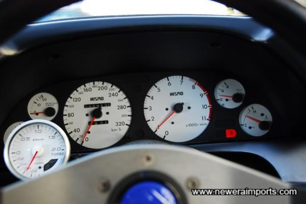 Nismo gauge set.