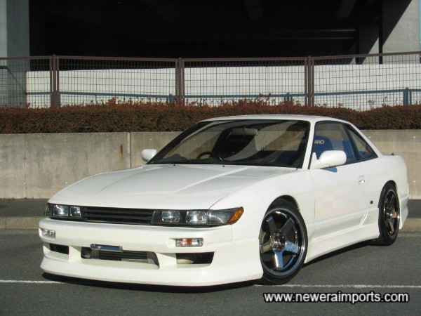 Stunning example - the BEST Silvia PS13 we've ever had!