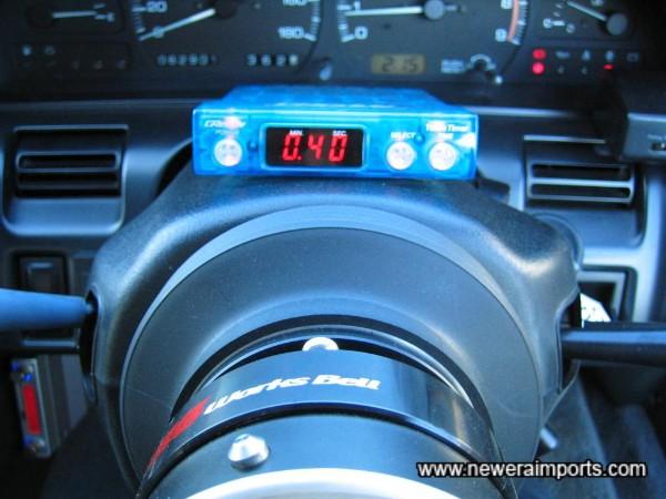 Works Bell quick release steering wheel!