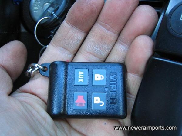 Viper remote controlled alarm.