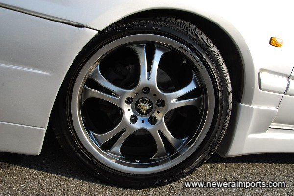 18'' Wheels are designed by Wedsport.