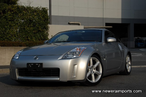 A beautifully cared for 350Z ST model.