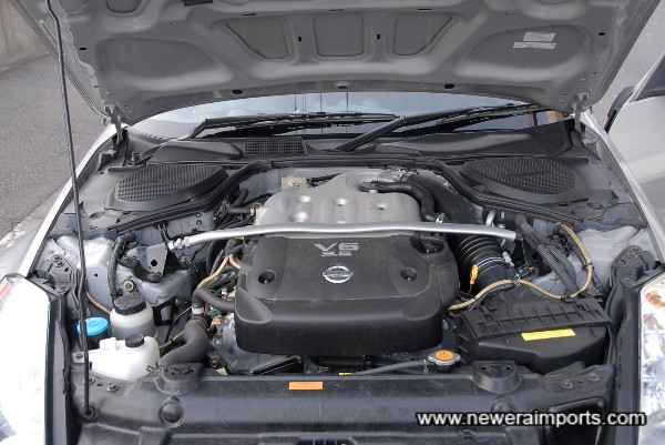 Engine bay as new.