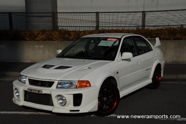 The best  example of  an Evo 5 we found in 5 weeks of searching!