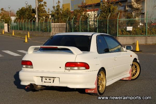 Facelift model rear lights of course.