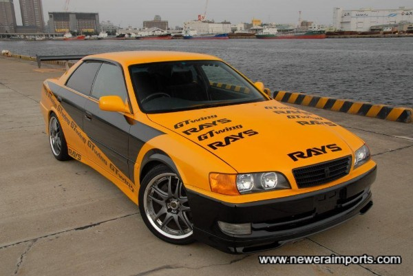 2.5 Litre Twin Turbo VVTi 5 Speed with drift modifications!