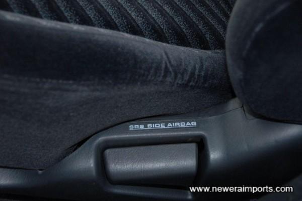 SRS side air bags.